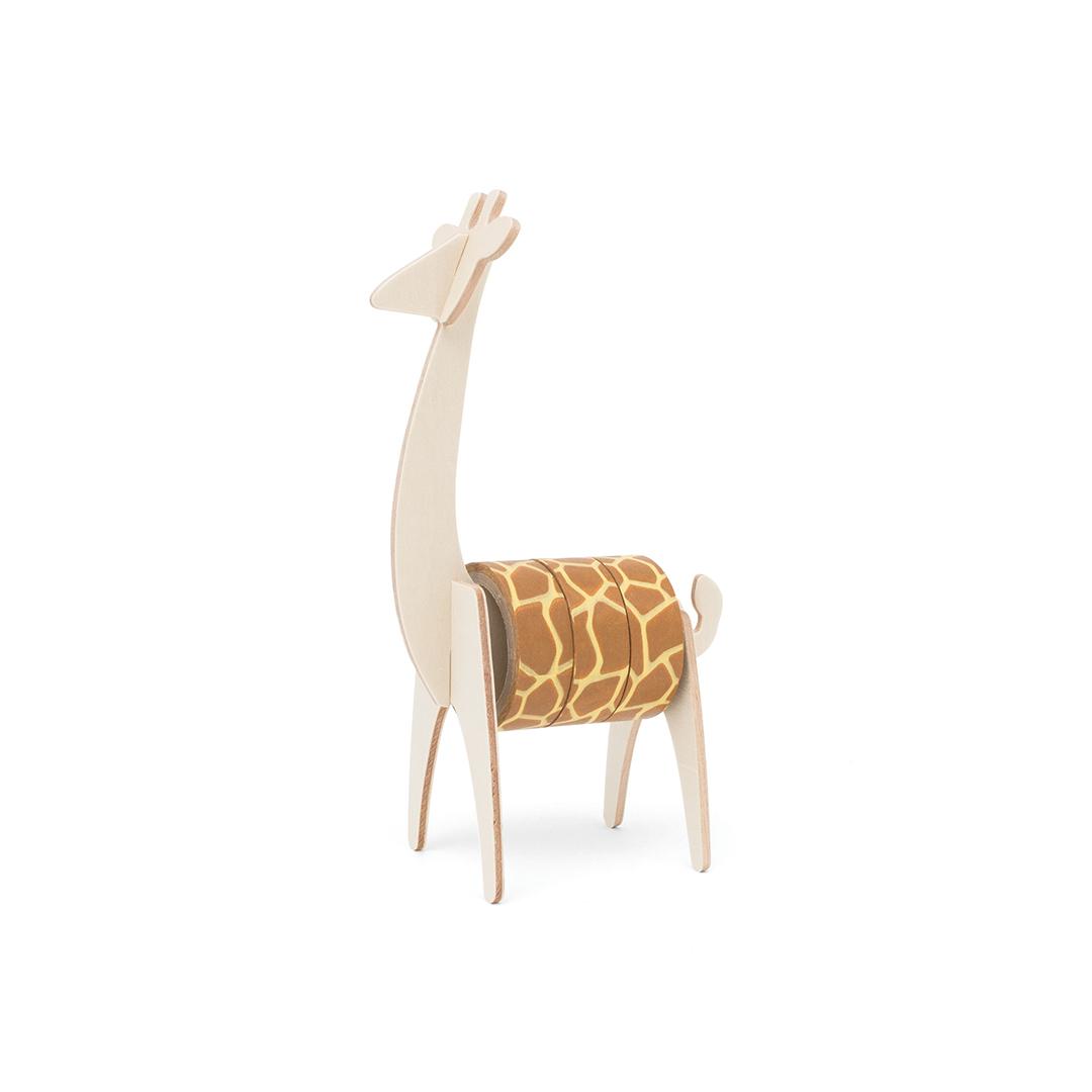 Luckies Wild Tape Giraffe - Animal themed tape holder